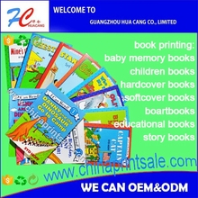 Childern funny story book printing customized english books for beginner