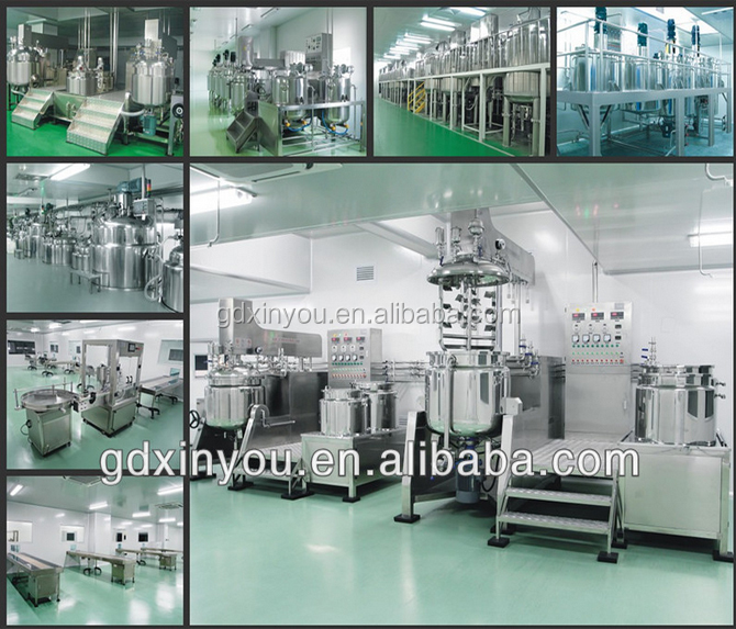250L lotion homogenizer mixer, emuslifying machine for cosmetic product