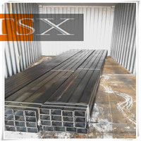 Tianjin manufacturer TSX-GP 13692 Q235 hot dip galvanized square pipe/tube