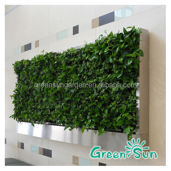 garden green house artificial green wall vertical garden system buy vertical garden system. Black Bedroom Furniture Sets. Home Design Ideas