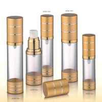 30ml 50ml 80ml high quality plastic cosmetic airless bottle factory direct sale