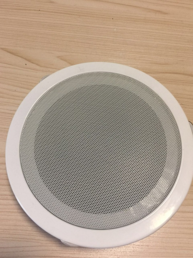 8inch China supply professional metal support ceiling loudspeaker