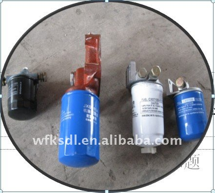 Oil / fuel filter for k4100 , R4105 ,R6105 series diesel engine spare parts