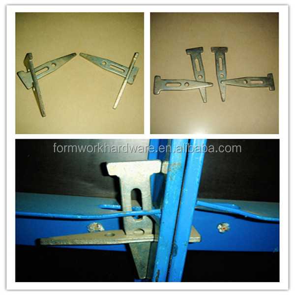 formwork concrete wall forms long/standard/short wedge bolt, wedge pin