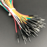 High Quality No Bad Smell 65-Pack Breadboard Jumper Wires