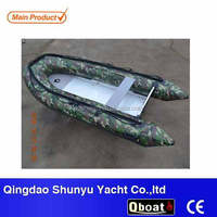 commercial 3.3m folding fishing inflatable boat
