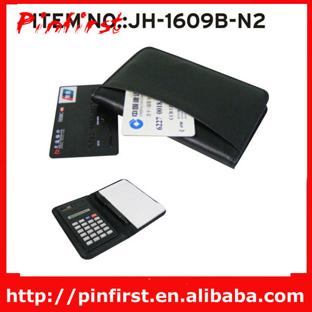 New-Design Notebook Calculator With Business Card Book And Page