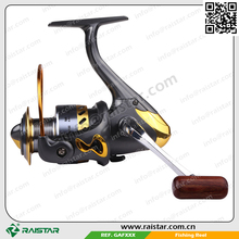 Spinning fishing method GAF 1000 to 6000 series and quantum reel