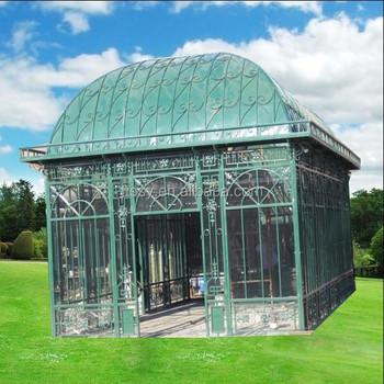 decorative antique metal paviliongreen garden gazebo