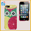 Owl Jeweled Gem Bling Diamond Crystal Case Cover For Iphone 5se 5s