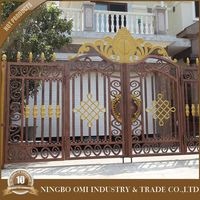 Outdoor Decoration Steel Design Wrought Aluminum