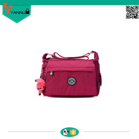 hot sale wholesale foldable bag nylon waterproof beach bag high quality long strap shoulder bag
