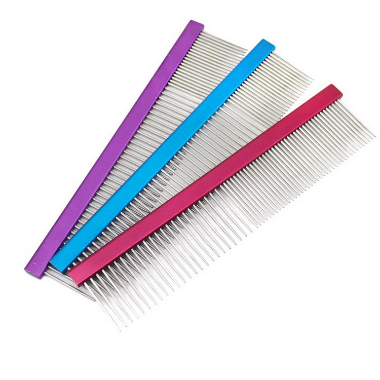 Low price OEM pet rake comb new design