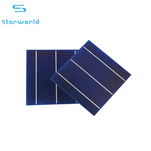 Energy-saving hot selling 156*156mm 3bb&4bb 1.5v solar cell poly cell with CE ROHS certification