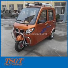 like city car closed cabin tri-motorcycle with 200cc engine and auto gearbox