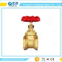 Factory directly sale brass plate gate valve