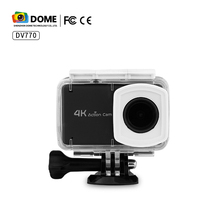 NTK96660 Chipset 4K 24fps 2K 30fps WiFi Sport Action Camera With Adjustable Wide-Angle Lens