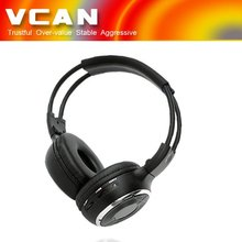 Double wireless tv headphones WL-2008-26 In Car Dual Channel Stereo Infrared Headset