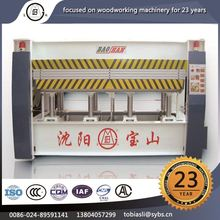 MRY120 Affordable fair woodworking equipment harga mesin hot press sale