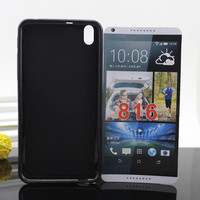 Pudding TPU Case for HTC Desire 816 800 Wave Curve Gel Cover