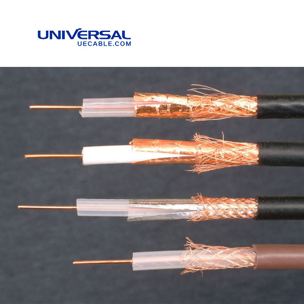 2.5 mm Plain Copper Conductor 50 ohm RG200LL Coaxial Cable