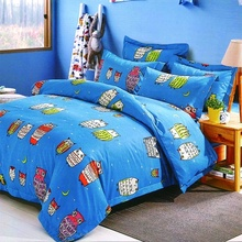 Wholesale children private label comforter sheet bedding sets luxury