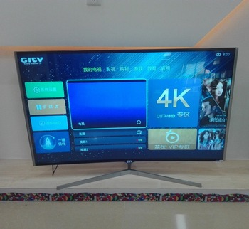 65 inch 4K curved led smart tv for android with WIFI