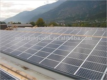 Specific design of solar power plant 1mw by sinosola
