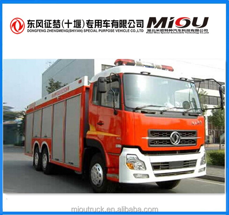 Dongfeng 6*4 fire truck manufacturers europe