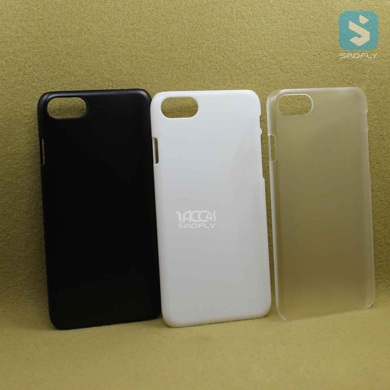 For iphone 7 matte hard case frost pc plastic cover for iphone 7