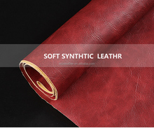 vintage style pvc sofa rexine embossed lychee pattern artificial leather for making furniture