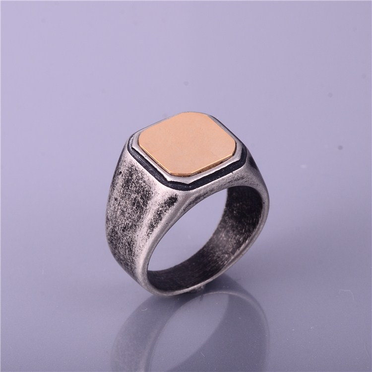 Mens Ring Fashion Jewelry Stainless Steel Ring For Men