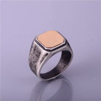 Mens Ring Fashion Jewelry Stainless Steel
