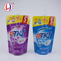 China Import Refill Stand Up Liquid Storage Spouted Pouch Packaging With Custom Logo