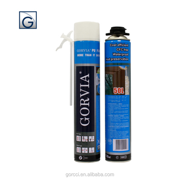 general purpose expanding construction PU foam 750 ml