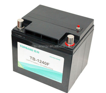 Professional design lifepo4 golf cart battery 12V40Ah