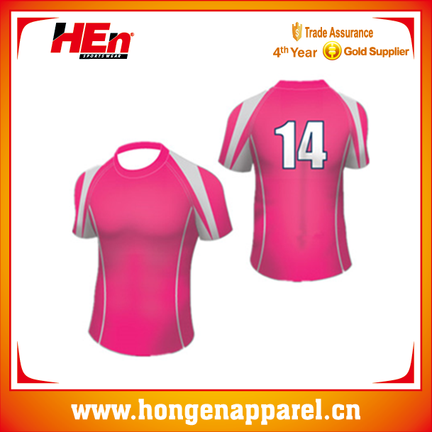 hot sale top fabric rugby jersey special style /sexy rugby jersey for women