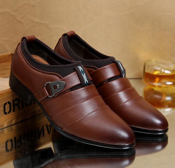 Cheap wholesale hot sale shoes in china four season men formal leather shoes