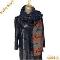 Factory OEM New Design Women Style Square Scarf