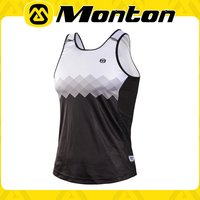 Custom good quality special-supply style design 2015 Monton hot-transfer Unisex short running/cycling/bike/sports vest for sale