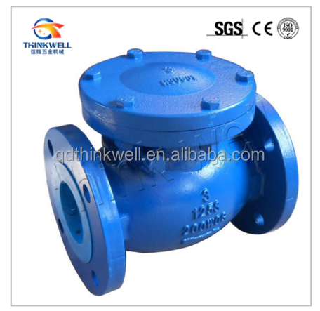 Flange Ends Hydraulic Actuator Tilting Disc Swing Check Valve