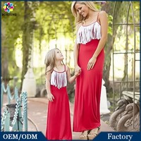 Cotton Frocks Designs Maxi Dresses 100% Cotton Red Evening Dress For Fat Women Lace Mommy And Me Maxi Dresses