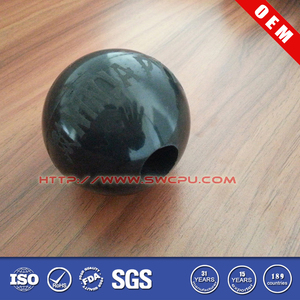 "Mold silicone hard 50mm 30mm 1"" rubber ball with hole in center"