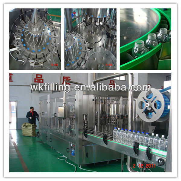 Automatic Beverage product line filling example
