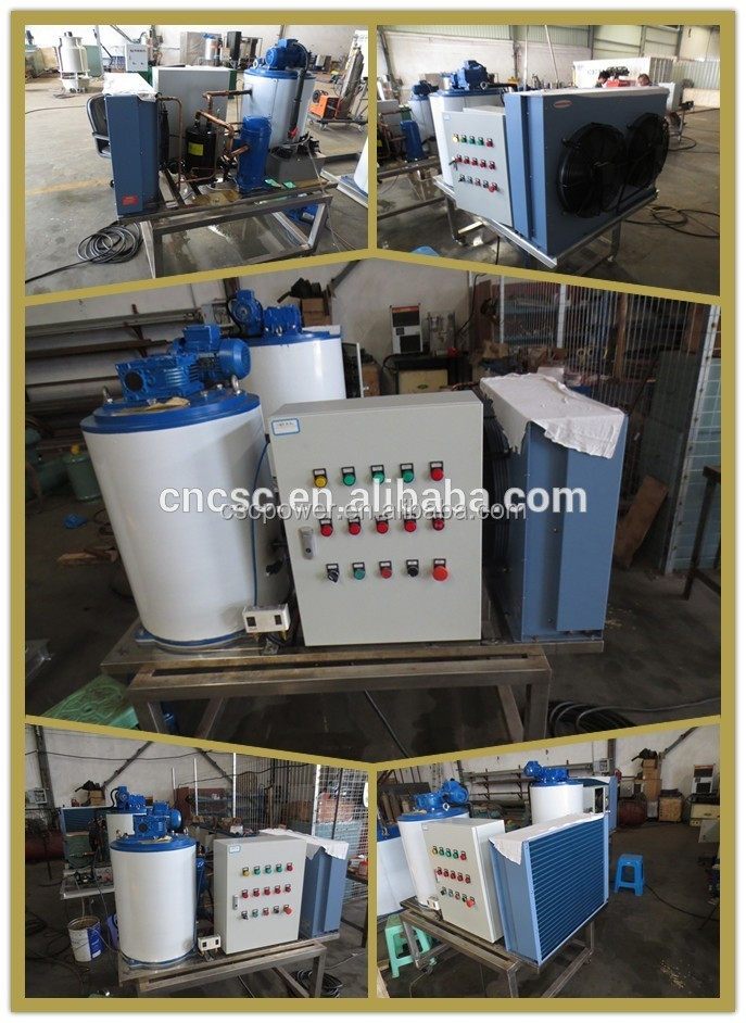 CE approved Flake Ice Machine 5 tons per day for seafood and restaurant