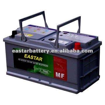12V 450AH maintenance free charged CAR BATTERY