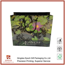 cheap printed fancy luxury paper shopping gift bags