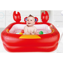 Hot sale inflatable baby swimming pool bathtub