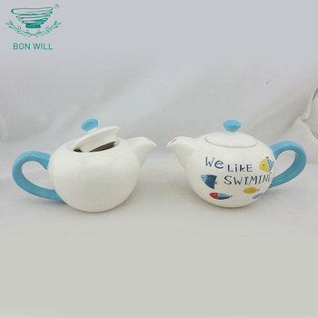 European style drinkware chinese white porcelain ceramic turkish coffee/tea pot