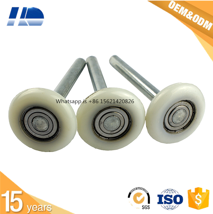 Nylon roller for sliding door guide garage door